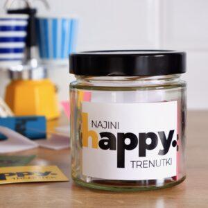 Najini Happy trenutki - Happy Jar